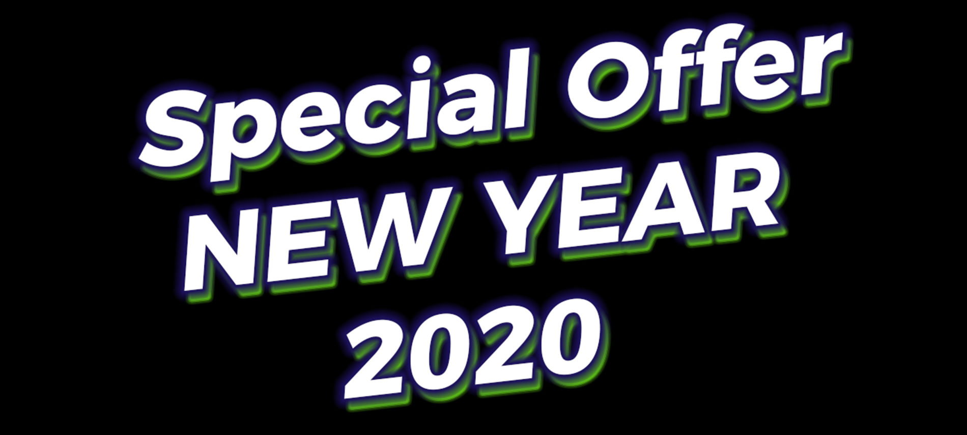 Special Offer New Year 2020