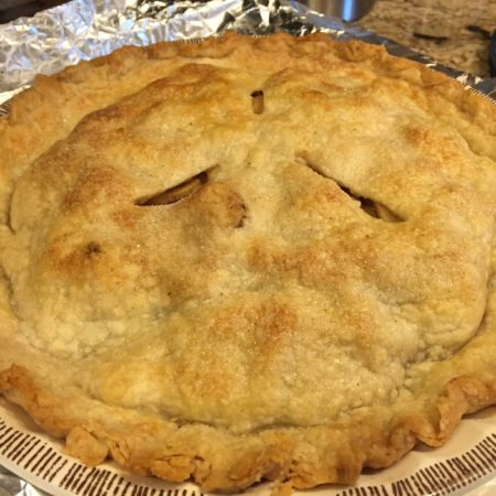 Flaky Baked Pie Crust