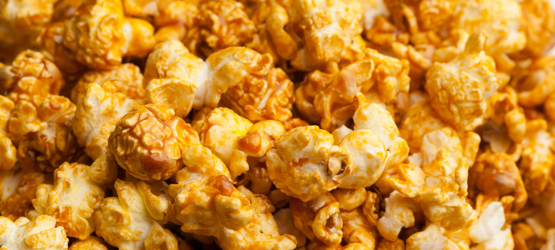 Golden Yellow Caramel Popcorn