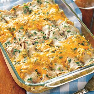 Chicken Enchiladas Recipe Sour Cream Chicken Enchiladas