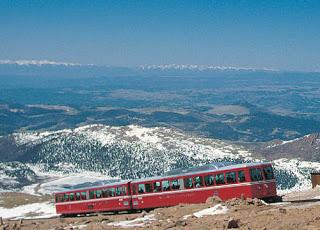 Cog Train up Pikes Peak