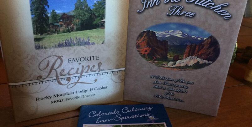 Bundle of 3 cookbooks