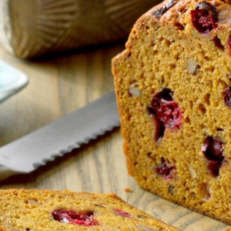 Pumpkin-Cranberry Bread