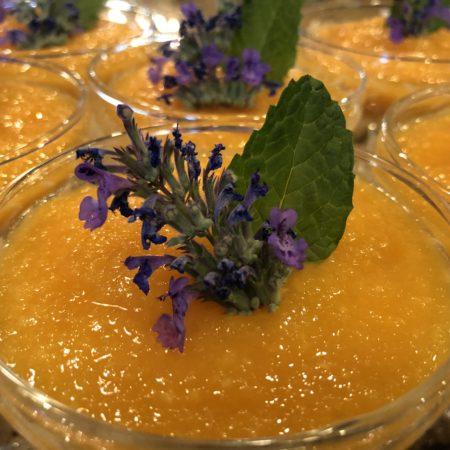 Mango Melon Soup