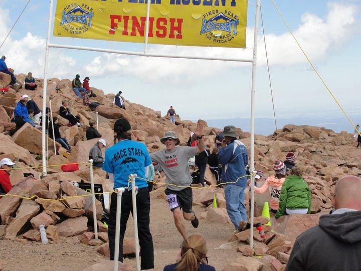 Pikes Peak Ascent Finish
