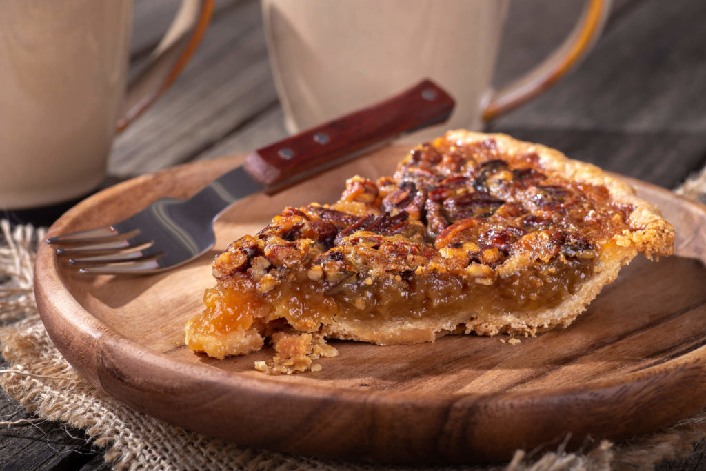 Slice of Pecan Pie