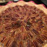 Pecan Pie with flaky crust