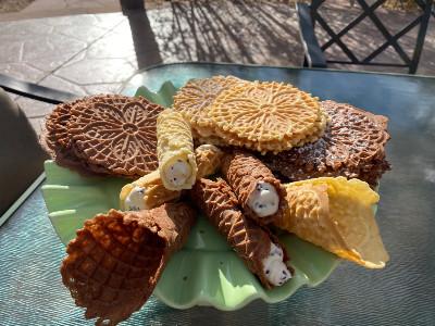 Italian Pzizzelle Cookies