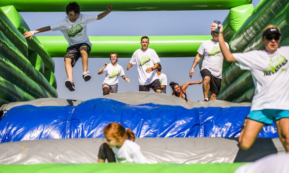 Rocky Mountain State Games Great Inflatable Race